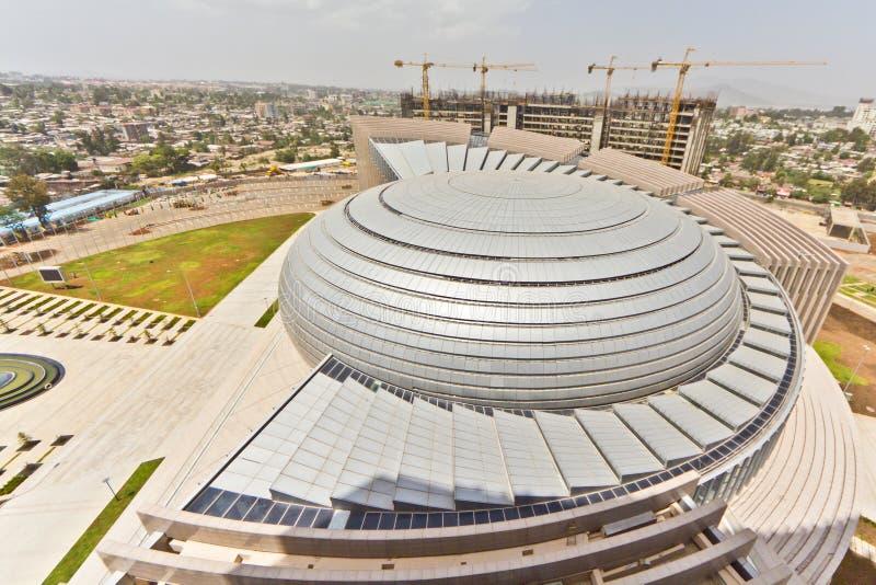 Der Afrika-Anschluss Hall lizenzfreie stockfotografie