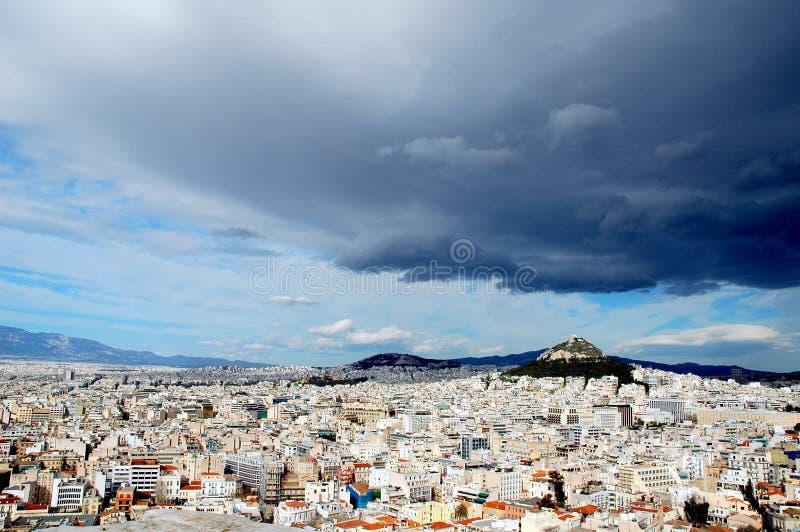 An der Akropolise in Athen stockfotografie