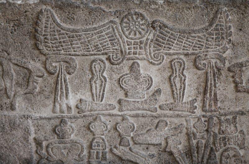 Der alte Marmor im Kayseri Archäologie-Museum. lizenzfreies stockfoto