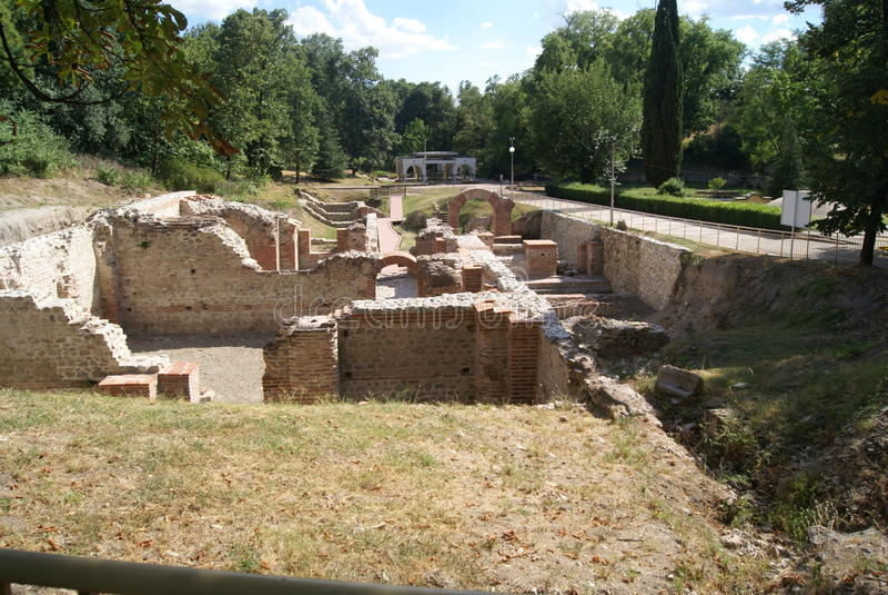 Der alte Ort von Bulgarien stockfotos