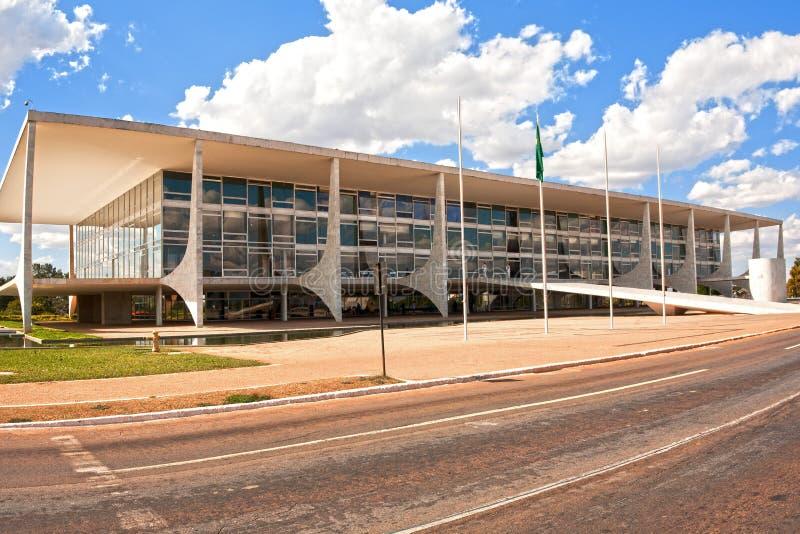 Der Alvorada-Palast Brasilien Brasilien lizenzfreie stockbilder