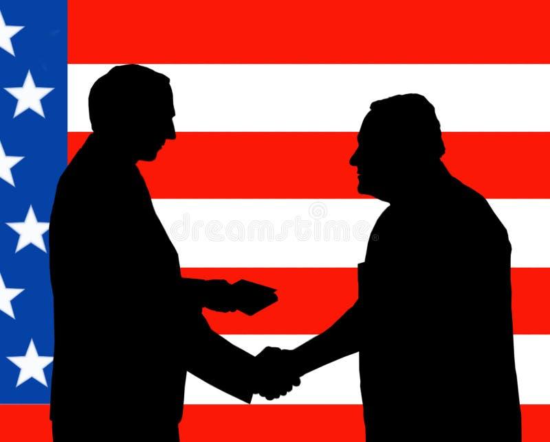 Der amerikanische Paß. stock abbildung