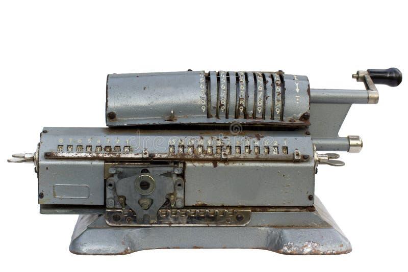 Der analoge Rechner lizenzfreie stockbilder