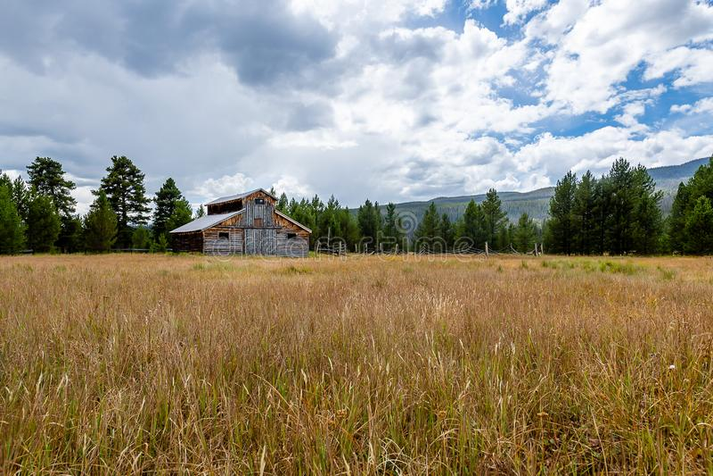 Der Anruf von Rocky Mountain National Park stockfoto