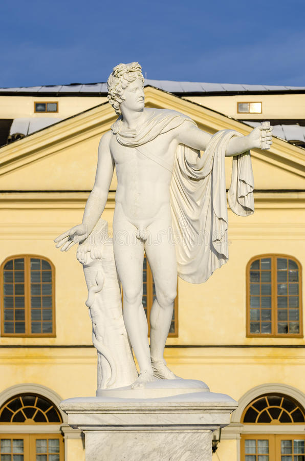 Der ApolloBelvedere am Drottningholm Palast-Theater stockfoto
