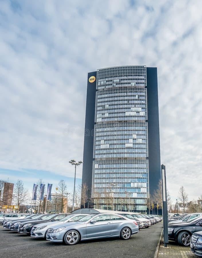 Der Arag-Hauptsitz lizenzfreie stockfotos