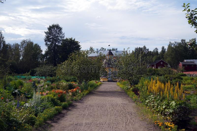 Der Aspegren-Garten lizenzfreie stockfotografie