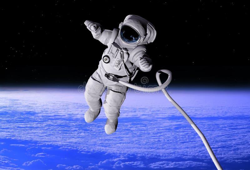 Der Astronaut stock abbildung