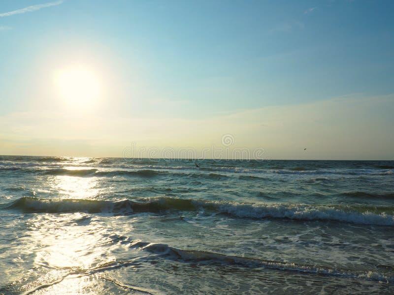 Der Atlantik bei Carolina Beach stockfotografie