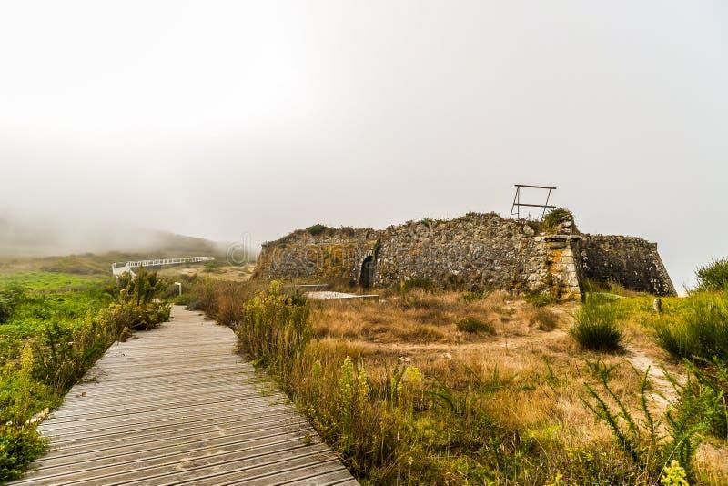 Der Ausblick - Viana do Castelo - Portugal lizenzfreies stockbild