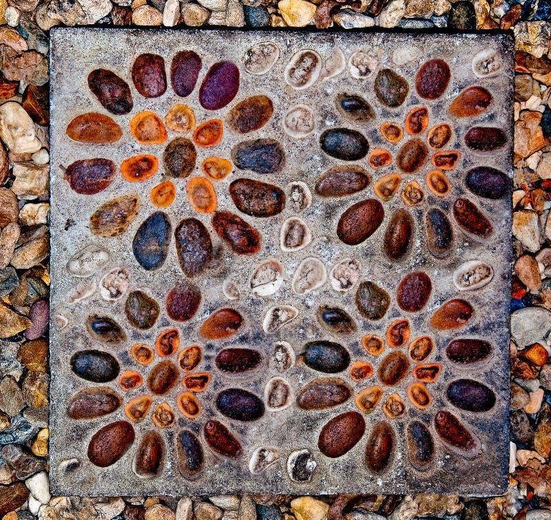Download Der Auszug Des Quadratischen Kiesels Stockbild - Bild von grunge, auslegung: 26370007