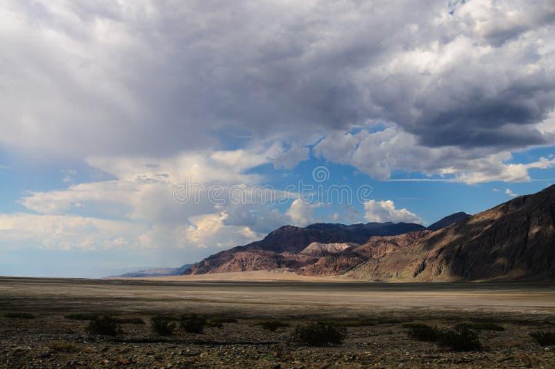 Der badwater Bereich in Death Valley lizenzfreies stockbild