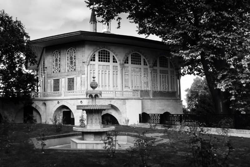 Der Bagdad-Pavillon aufgrund des berühmten Topkapi-Palastes, Istanbul stockbild