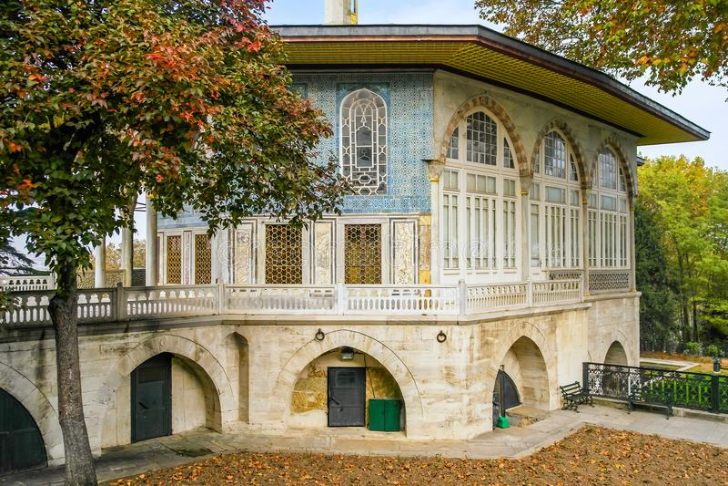 Der Bagdad-Pavillon in Topkapi-Palast stockbild
