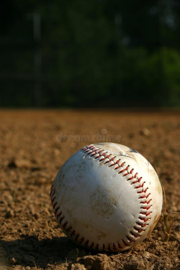 Der Baseball Lizenzfreie Stockfotos