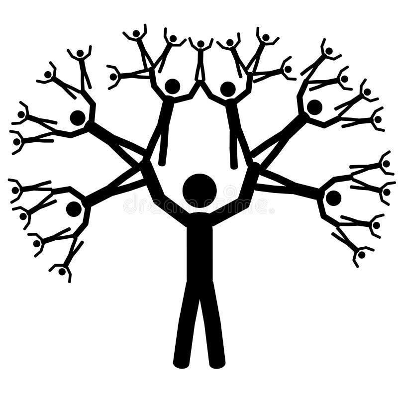 Der Baum lizenzfreie abbildung