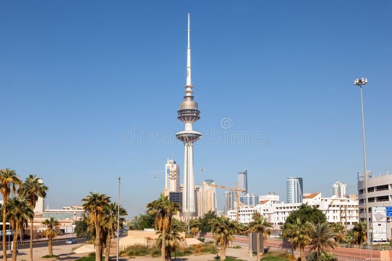 Der Befreiungs-Turm in Kuwait-Stadt lizenzfreies stockfoto
