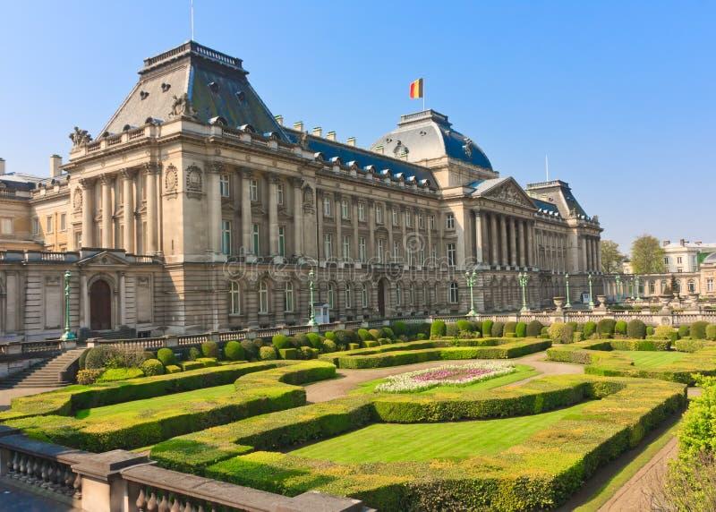 Der Belgien-König Palace lizenzfreie stockfotos