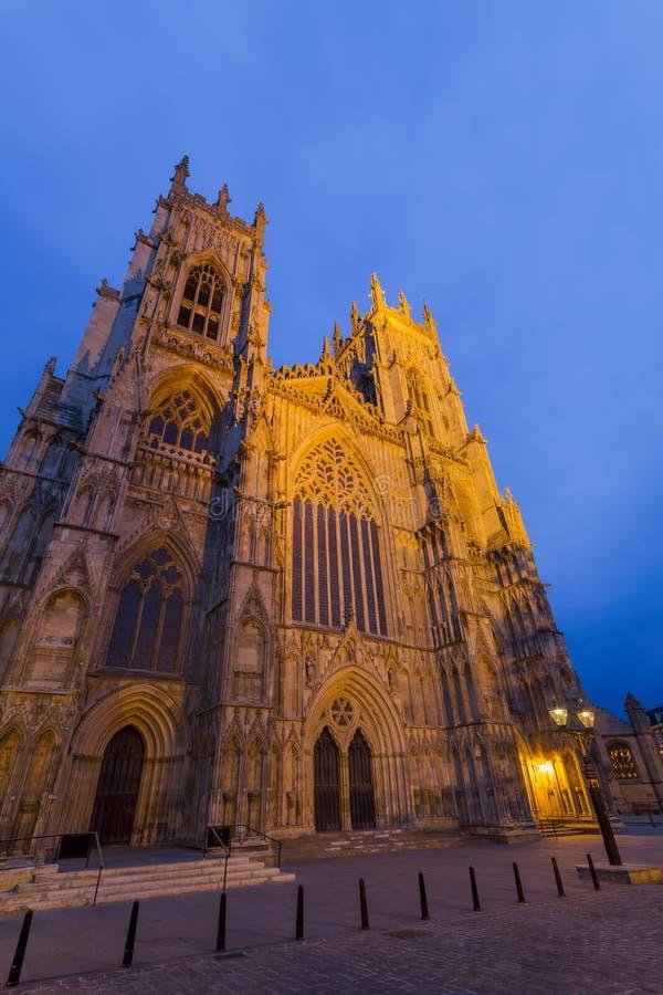 Der berühmte York-Münster stockbilder