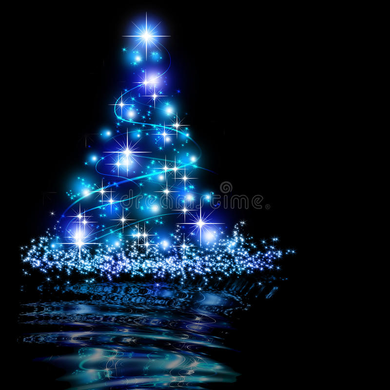 Der beste Weihnachtsbaumhintergrund lizenzfreie abbildung