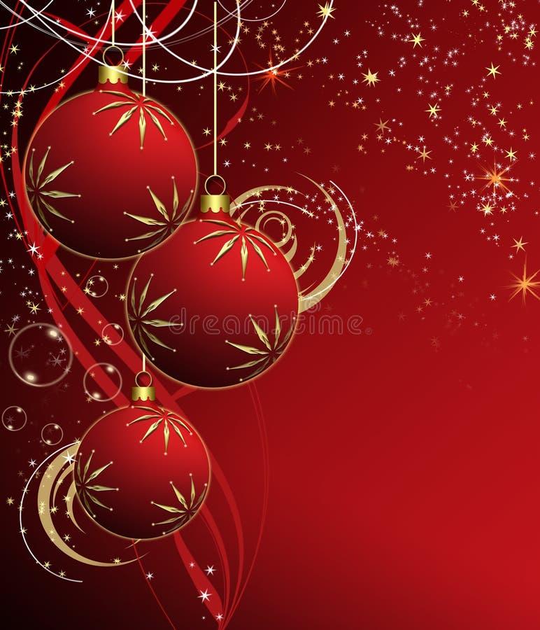 Der beste Weihnachtshintergrund vektor abbildung