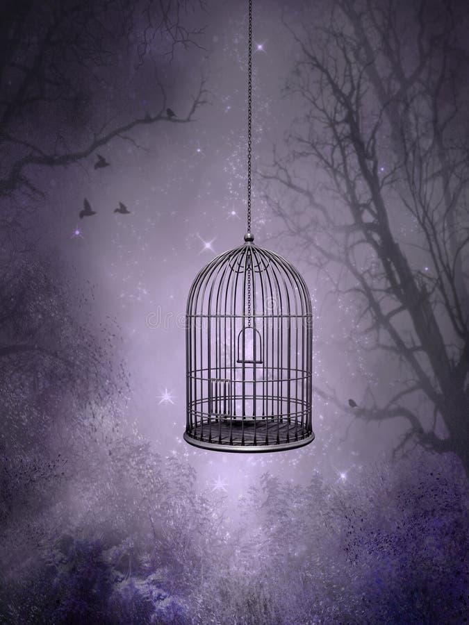 Der Birdcage lizenzfreie abbildung