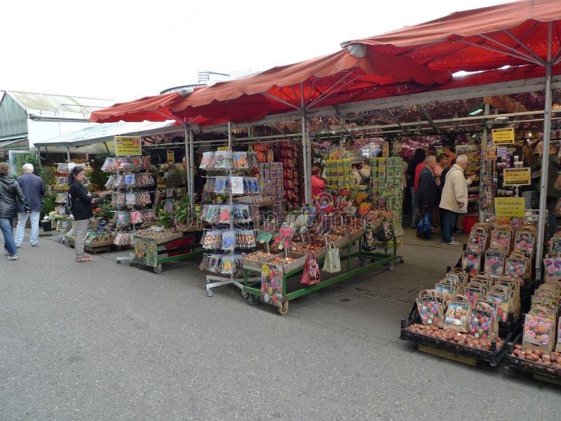 Der Blumen-Markt, Amsterdam lizenzfreies stockbild