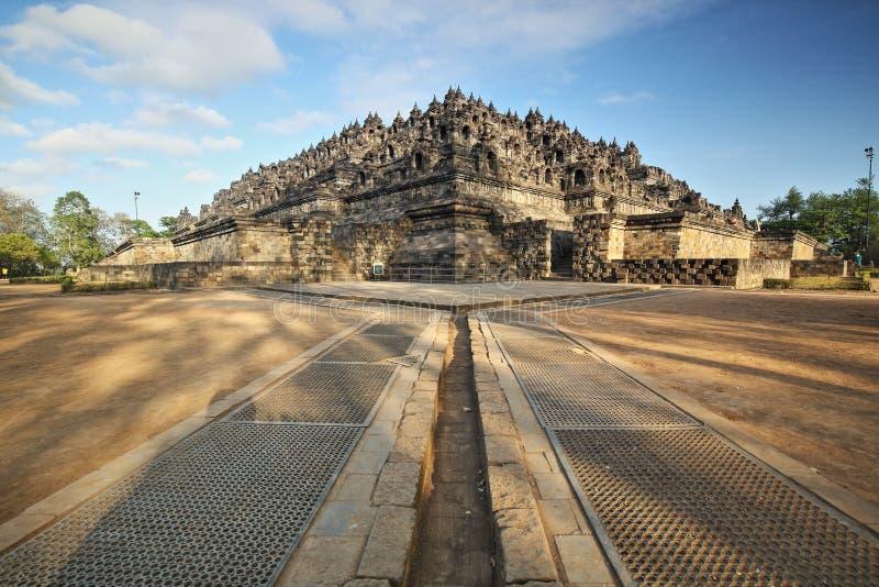 Der Borobudur-Tempel Süd-Karmawibhangga lizenzfreies stockbild
