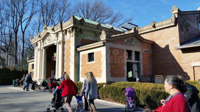 Der Bronx-Zoo-Winter 2015 8 lizenzfreies stockbild
