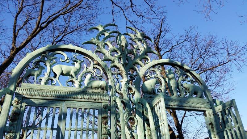 Der Bronx-Zoo-Winter 2015 84 stockfoto