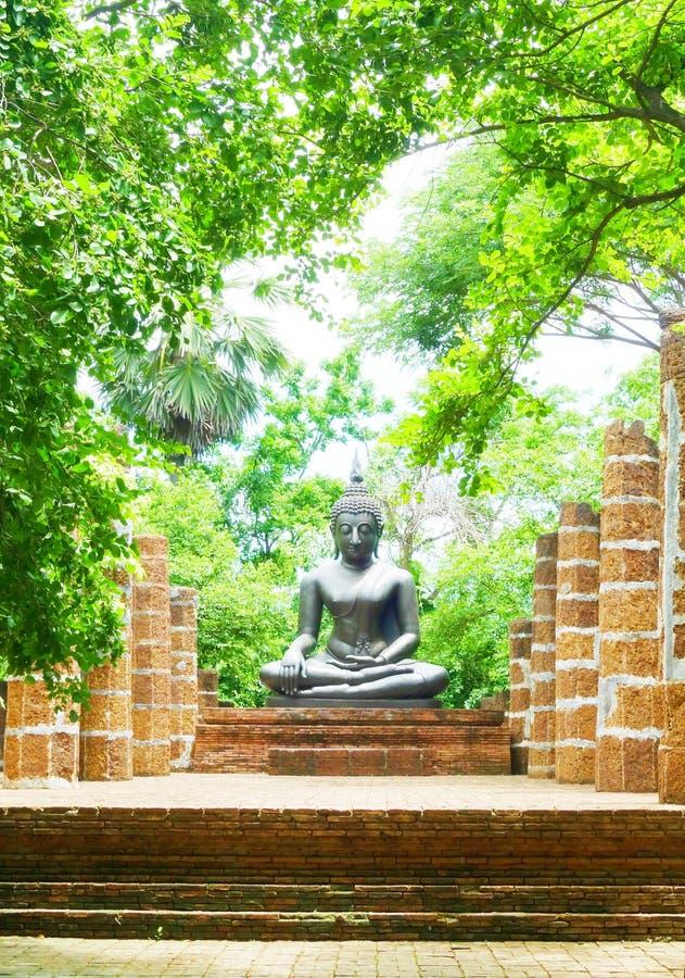 Der Buddha in Thailand stockbilder