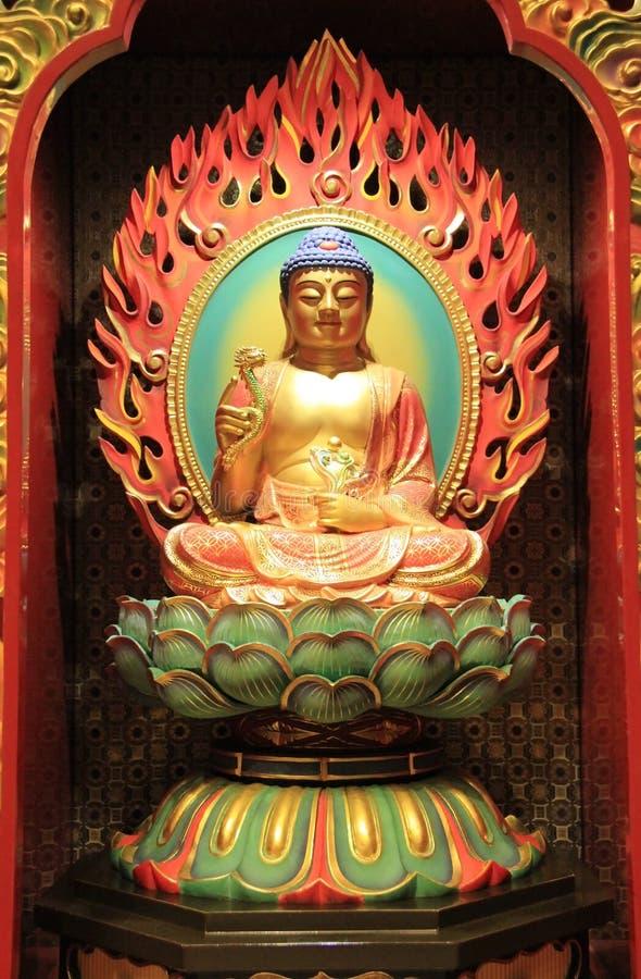 Der Buddha-Zahn-Relikt-Tempel und das Museum, basiert auf dem Tang-dyna lizenzfreie stockfotografie