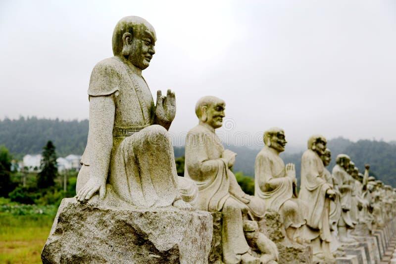 Der buddhistische Tempel in Jianning-Grafschaft, Fujian, China lizenzfreie stockbilder