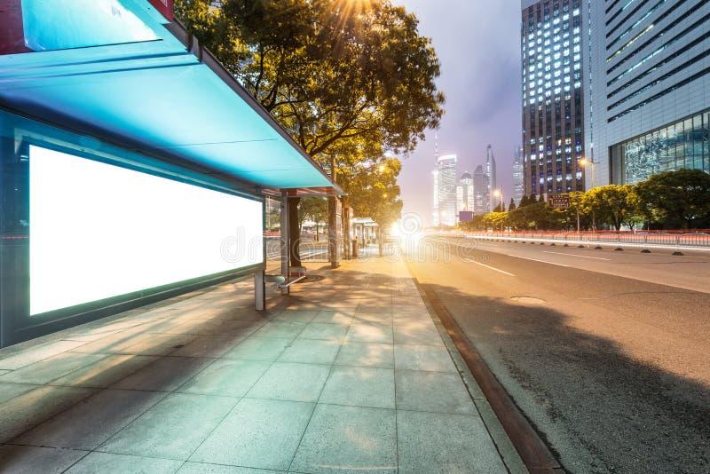 Der Busbahnhof lizenzfreies stockfoto