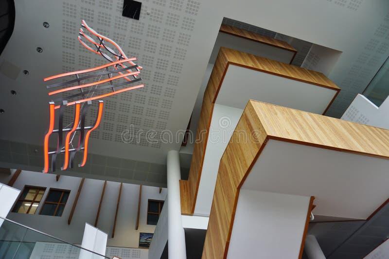 Der Campus der Universität des Bades in Somerset, England lizenzfreie stockfotos