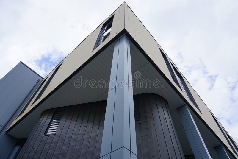 Der Campus der Universität des Bades in Somerset, England lizenzfreie stockfotografie