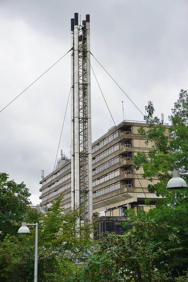 Der Campus der Universität des Bades in Somerset, England stockfotos