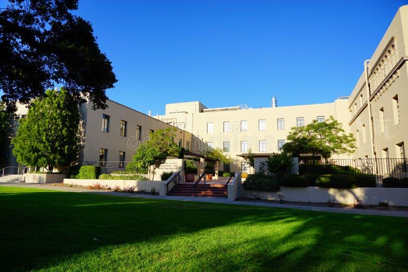 Der Campus von Caltech stockfotos