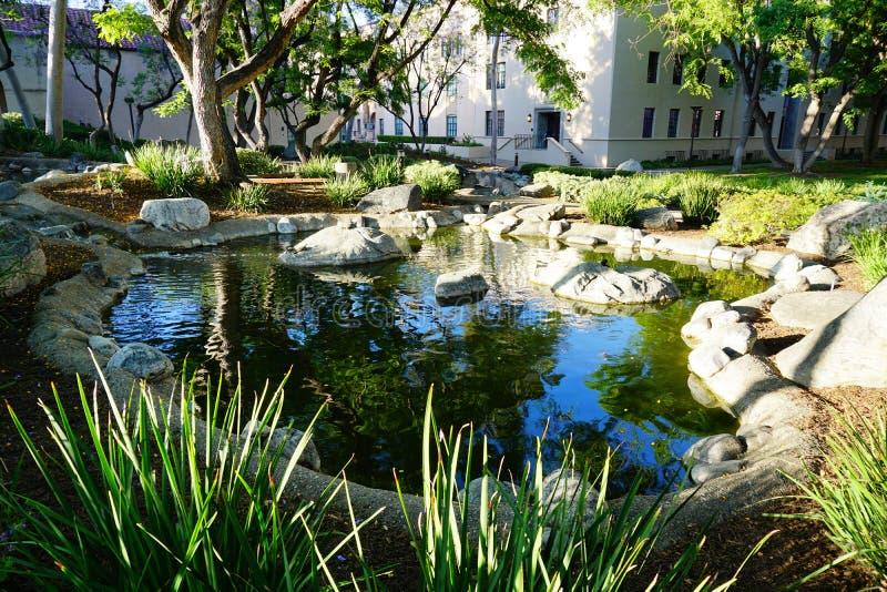 Der Campus von Caltech lizenzfreie stockfotografie