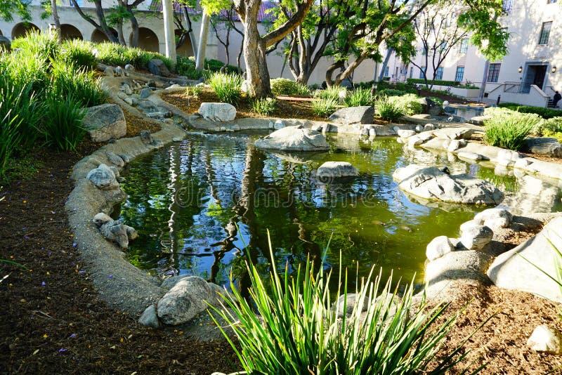 Der Campus von Caltech stockfoto