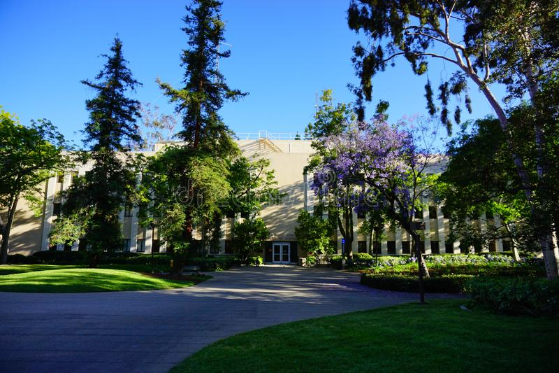 Der Campus von Caltech stockfotografie