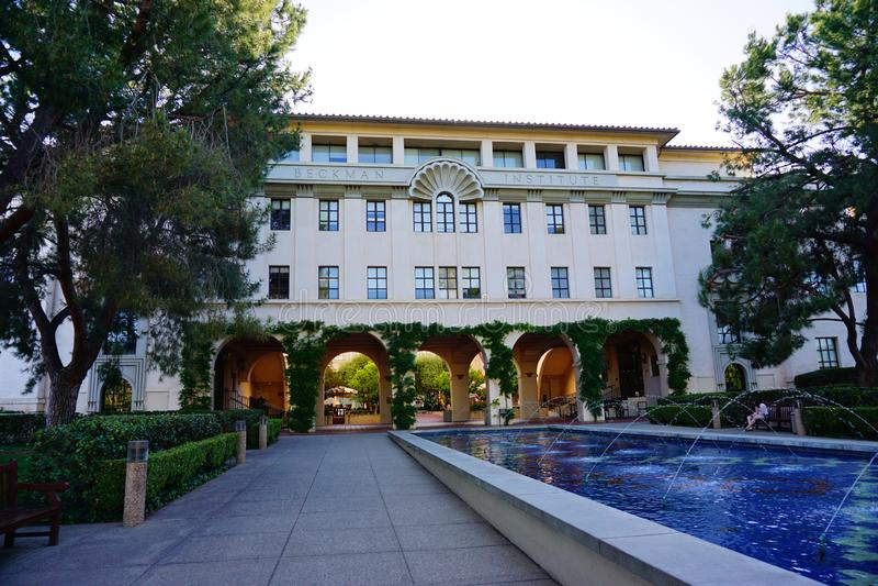Der Campus von Caltech lizenzfreie stockbilder