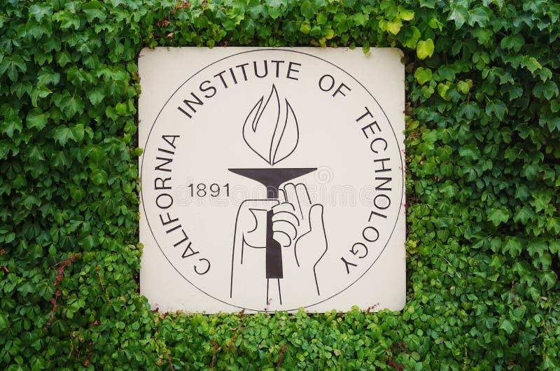 Der Campus von Caltech (California Institute of Technology) lizenzfreie stockfotografie