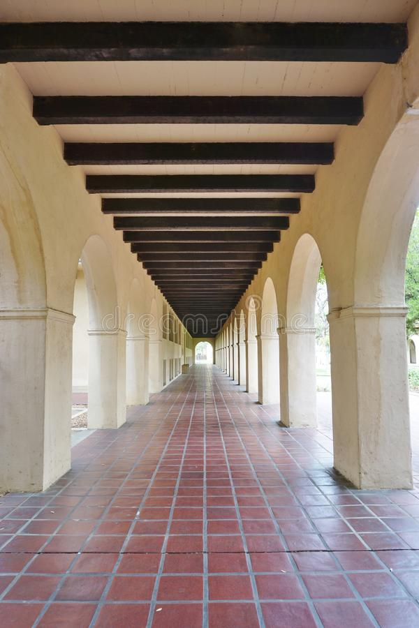 Der Campus von Caltech (California Institute of Technology) lizenzfreies stockbild