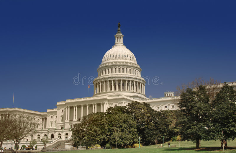 Der Capitol Hill lizenzfreie stockfotografie