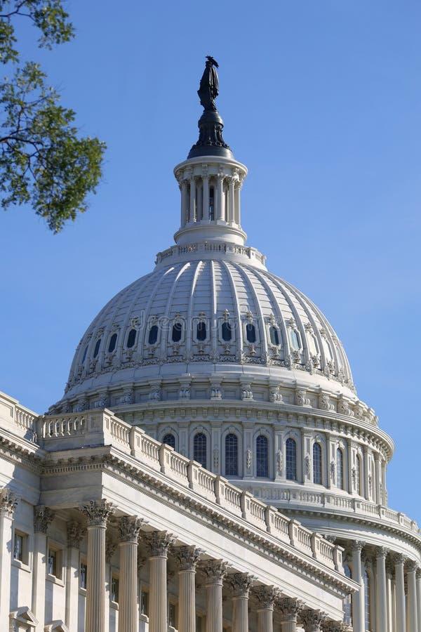 Der Capitol Hill stockfotografie