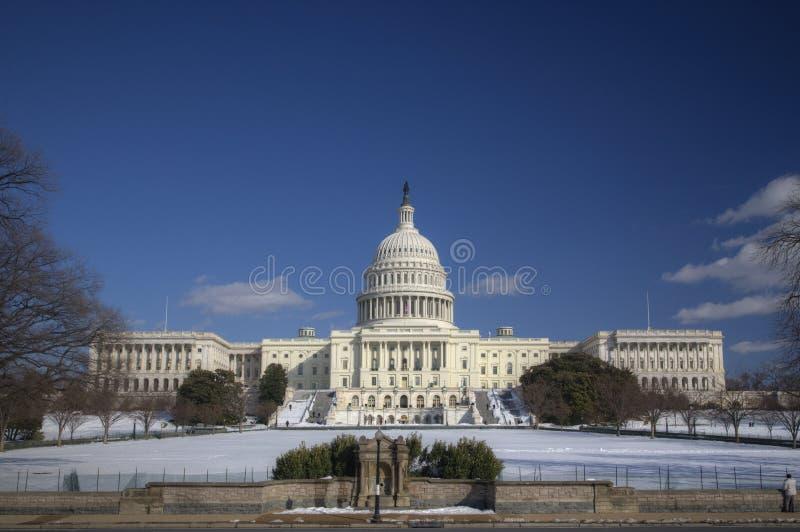 Der Capitol Hill, Washington stockbilder
