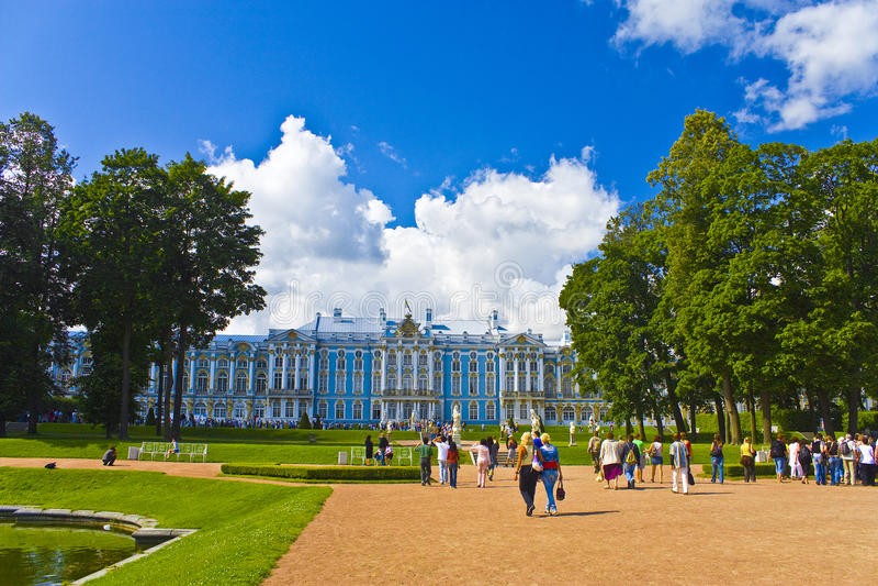 Der Catherine-Palast lizenzfreie stockbilder