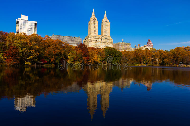 Der Central Park in New York City lizenzfreies stockbild