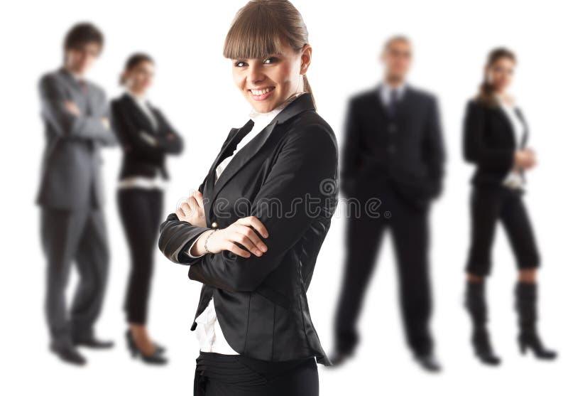 Der Chef lizenzfreies stockfoto
